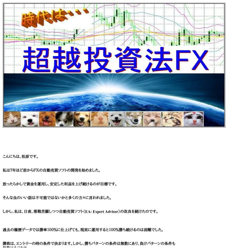 超越投資法FX
